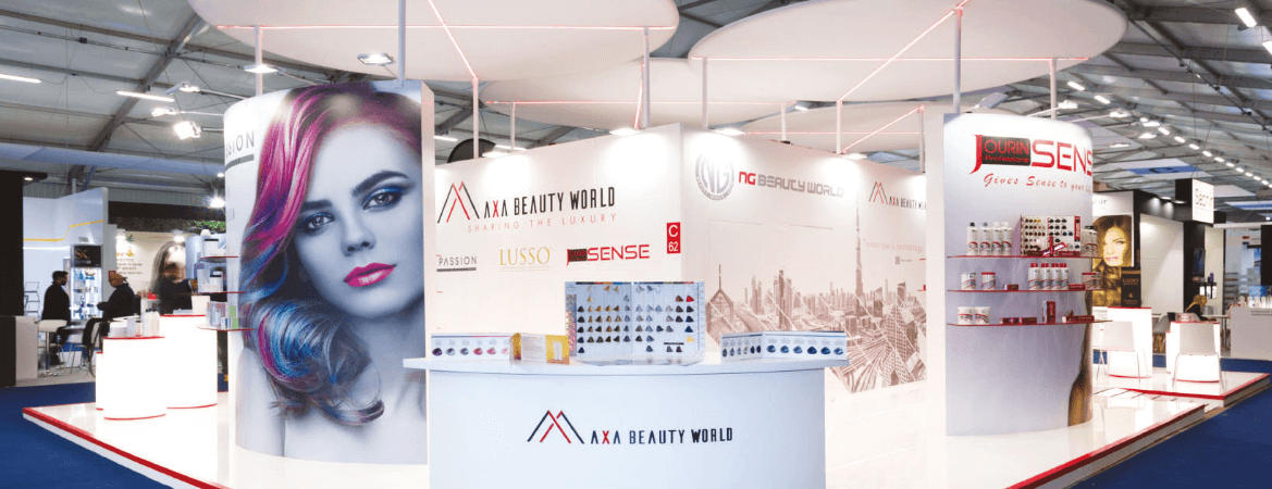 HairPassion expo stand